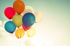 Multicolor balloons Royalty Free Stock Photography
