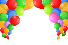 Multicolor Baloons Royalty Free Stock Photos