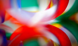 Multicolor blur abstract. Artistic colorful paper abstract background with a mirror reflection Royalty Free Stock Photo