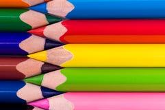 multicolor blyertspennor Fotografering för Bildbyråer
