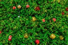 Multicolor boże narodzenia balowi Fotografia Royalty Free