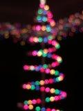 Multicolor bokeh choinki światła Zdjęcie Royalty Free