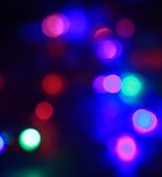 Multicolor bokeh circle background. Close up. Stock Image