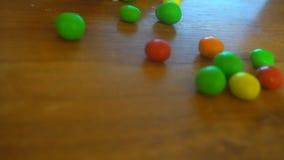 Multicolor bonbon cukierków balowi cukierki, zbliżenie widok zbiory