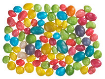 Multicolor bonbon sweets (ball candies) background Stock Image