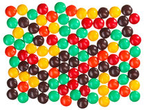 Multicolor bonbon sweets food background Stock Photography