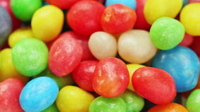 Multicolor bonbon sweets rotating food background stock video