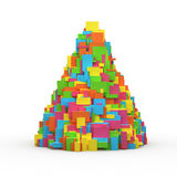 Multicolor box Royalty Free Stock Photography