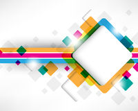Multicolor Box Square Design Royalty Free Stock Photo