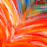 Multicolor Brush Strokes Stock Images