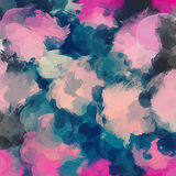 Multicolor brush strokes background. Stock Images