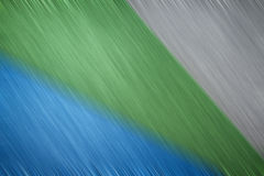 Brushed metal multicolor Royalty Free Stock Photos