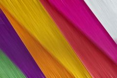 Brushed metal multicolor Stock Photos