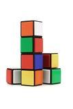 Multicolor building blocks Stock Photos