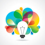 Multicolor business idea  Royalty Free Stock Photography