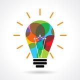 Multicolor business idea  Stock Photography