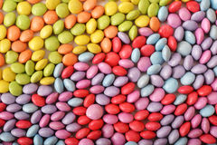 Multicolor candies Stock Image