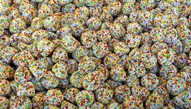 Multicolor candy party background. Candy abstract pattern royalty free stock photos