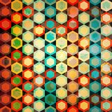 Multicolor cells seamless Royalty Free Stock Image