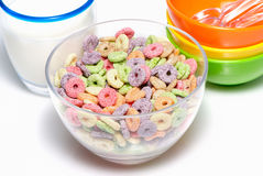 Multicolor cereal Royalty Free Stock Photography