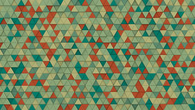 Multicolor chaotic extruded triangles 3D render. Multicolor chaotic extruded triangles. Abstract hipster background with geometric elements. 3D render Stock Image