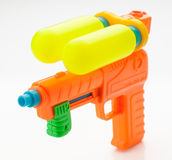 Multicolor child water gun Royalty Free Stock Photos