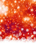 Multicolor christmas with snowflake. EPS 8 Royalty Free Stock Photos