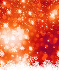 Multicolor christmas with snowflake. EPS 8 stock illustration