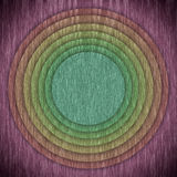 Multicolor circular and frame background Stock Image