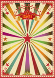 Multicolor circus Stock Photo
