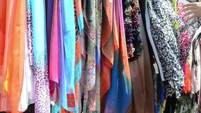 Multicolor cloak shawls Stock Images