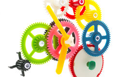 Multicolor clockwork Royalty Free Stock Photos