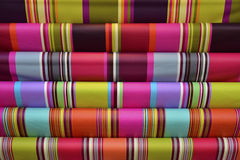 Multicolor cloth background Royalty Free Stock Photography