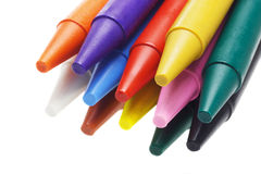 Multicolor crayon pencils Royalty Free Stock Photo