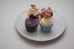 Multicolor cupcakes Royalty Free Stock Image
