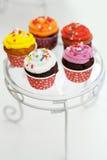 Multicolor cupcakes Stock Image