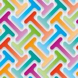 Multicolor 3d wallpaper. Royalty Free Stock Photos