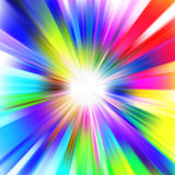 A multicolor design with a burst. EPS 8 Royalty Free Stock Photos