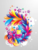 Multicolor_design_element Stock Photography