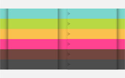 Multicolor designmall vektor illustrationer