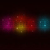 Multicolor Digital Equalizer Royalty Free Stock Image