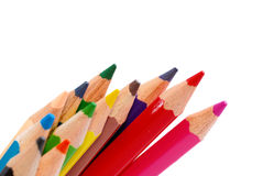 Multicolor Drawing Pencil Series 04 Stock Image