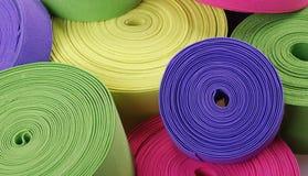 Multicolor elastics Stock Image