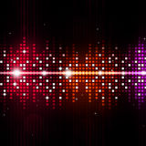 Multicolor Equalizer Music Background Stock Photography