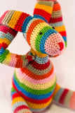 Multicolor fabric doll Royalty Free Stock Photos