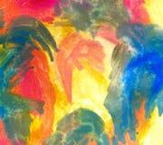 Multicolor farby tło Zdjęcia Royalty Free