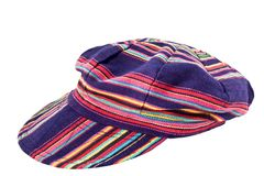Multicolor fashion cap Stock Photos