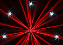 Multicolor fireworks explosion Royalty Free Stock Images