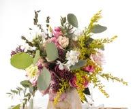 Multicolor flower bouquet Stock Image