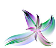 Multicolor Fractal Flower Royalty Free Stock Photo